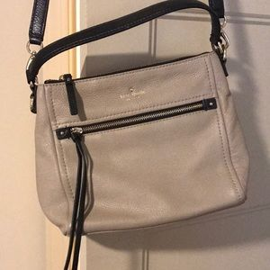 Kate Spade tan crossbody bag